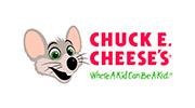 20% de descuento Chuck E Cheese's